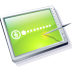 Tablet Lime Icon 72px png
