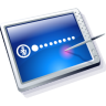 Tablet Blue Icon 96px png