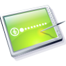 Tablet Lime Icon 96px png
