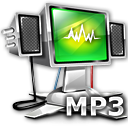 MP3 File Icon 128px png