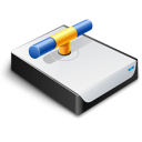 Network Drive Connected Icon icon