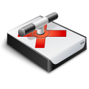 Network Drive Offline Icon 128px png