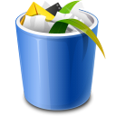 Recycle Bin Full Icon icon