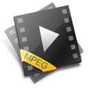 MPEG File Icon icon