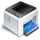 Printers & Faxes Icon icon