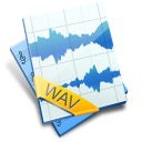WAV File Icon 128px png