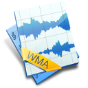WMA File Icon 128px png