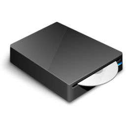 DVD-Drive Icon 256px png