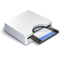 Floppy Drive 3 Icon 256px png