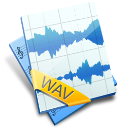 WAV File Icon 256px png