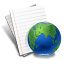 Internet Document Icon 64px png
