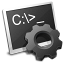 MS-DOS Batch File Icon 64px png