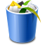 Recycle Bin Full Icon 64px png