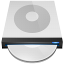 DVD Drive Icon 128px png