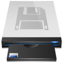 Floppy Drive 5 Icon 128px png