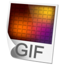 GIF Image Icon 128px png