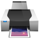 Printers & Faxes Icon 128px png