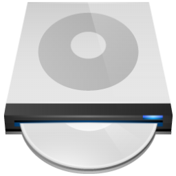 DVD Drive Icon 256px png