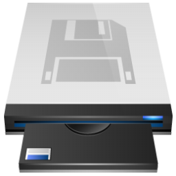 Floppy Drive 5 Icon 256px png
