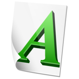 Font Icon 256px png