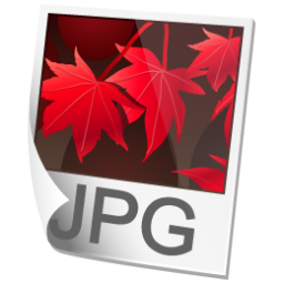 JPEG Image Icon 256px png