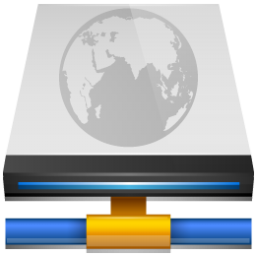 Network Drive Connected Icon 256px png