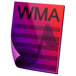 WMA Sound Icon 256px png