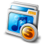 My Music Share Icon 64px png