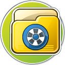 My Video Folder Icon 128px png