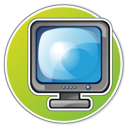 Monitor Icon 256px png