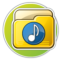 My Music Folder Icon 256px png