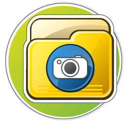 My Photos Folder Icon 256px png
