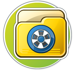 My Video Folder Icon 256px png