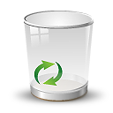 Recycle Empty Icon 128px png