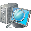 Computer Search Icon icon