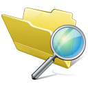 Folder Search Icon icon