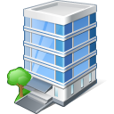 Office Building Icon 128px png