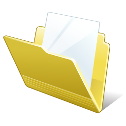 Folder Document Icon 256px png