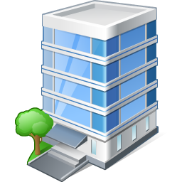 Office Building Icon 256px png