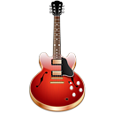 Guitar Icon 128px png