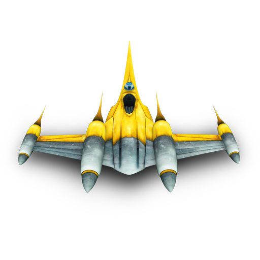 Naboo Bomber Icon 512px png