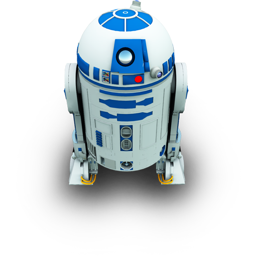 R2D2 Icon 512px png