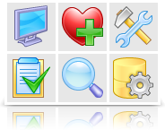 Stock di icone: XP Artistic Icons