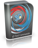 3D Text Commander: 3D text maker