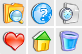 Stock icons: 3D Artistic Icons