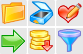 Stock icons: Artistic Icons