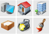 Stock icons: Professional icon collections