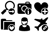 Stock icons: Symbol Black Icons