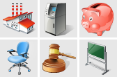 Stock icons: Vista Business Icons