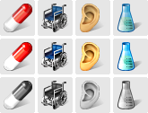 Stock icons: Vista Medical Icons